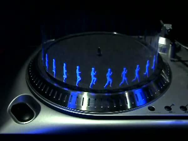 Gramofon a Iluze pohybu