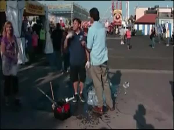 Reportér - nešťastná nehoda