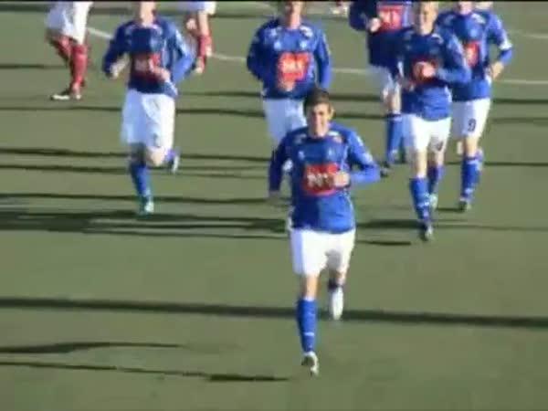 Fotbal - Originální oslavy gólu 5.