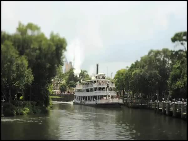 Disneyland - Normální den