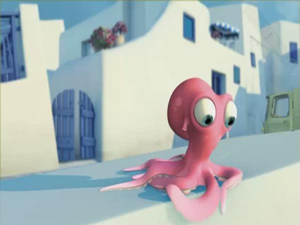 Krátký animovaný film - Oktapodi