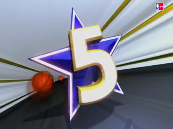 TOP 10 - NBA - Úžasné akce