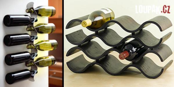 OBRÁZKY - Originální stojany na víno