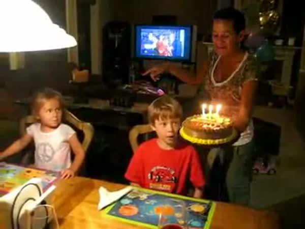 Nepovedená oslava narozenin