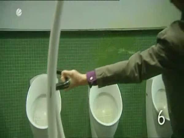 10 osvědčených rad - Pánské záchodky