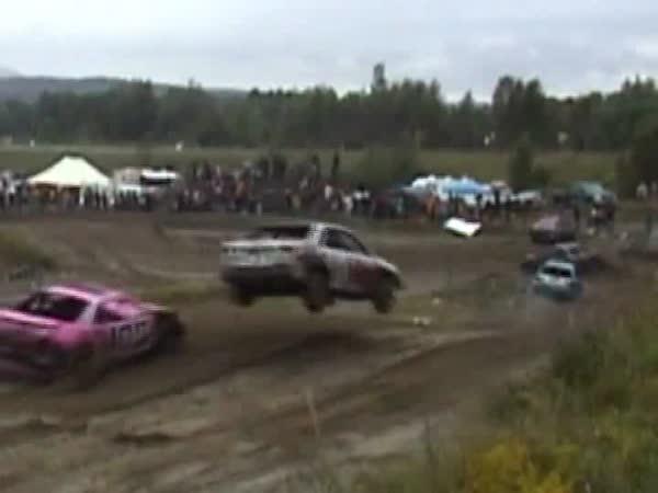 Automobilové závody - Kuriozní přeskok