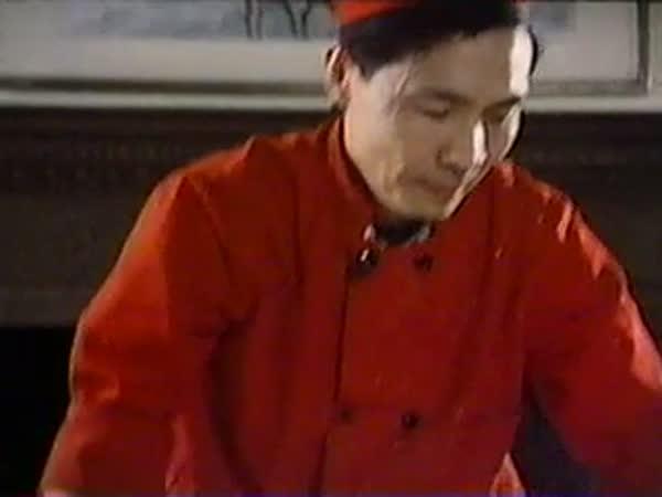 Výroba čínských nudlí
