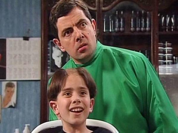 Mr. Bean a holič