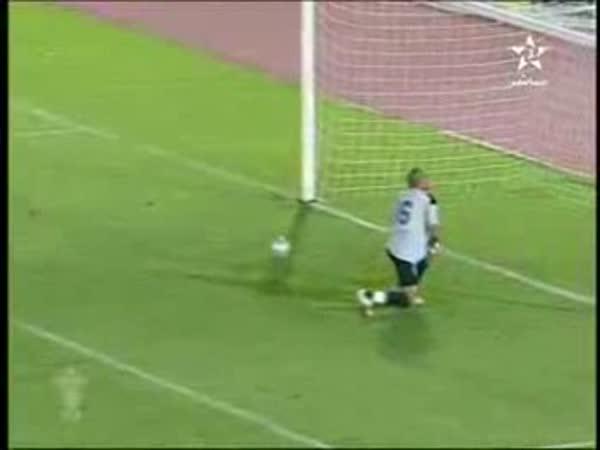Fotbal - Kuriozní penalta