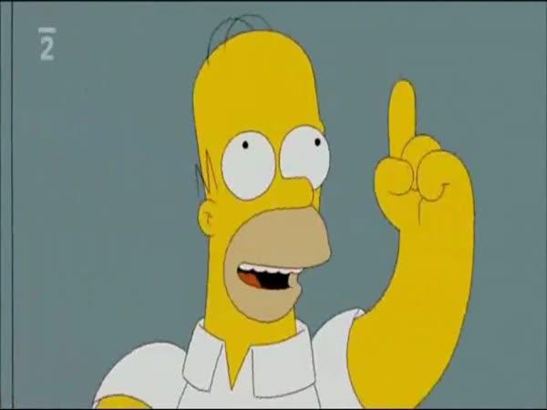 Simpsonovi - Černý Jestřáb sestřelen