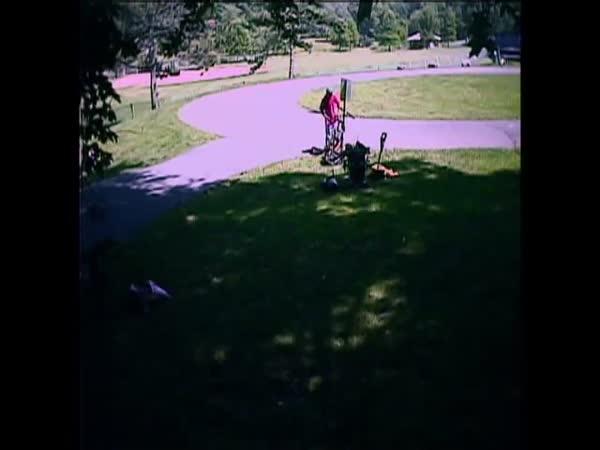 Nachytávky - Loupež kola