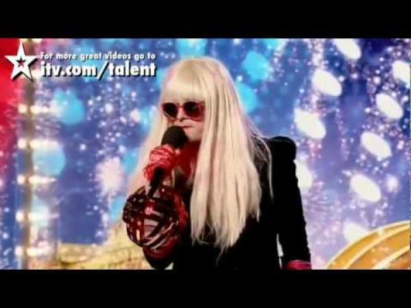Británie má talent - Lady Gaga