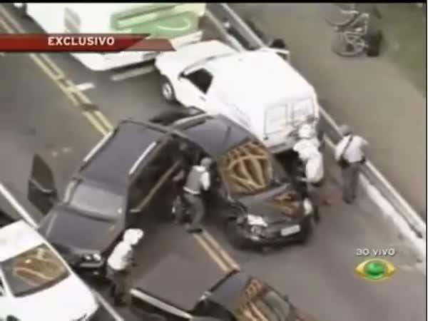 Brazílie - Policejní honička