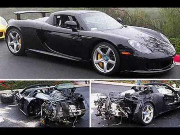 Nehody luxusních aut