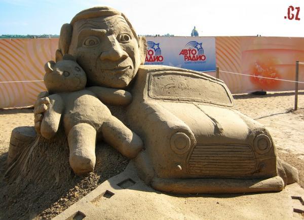 OBRÁZKY - Úžasné výtvory z písku 5