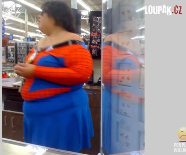 OBRÁZKY - Zvláštní lidé v supermarketu