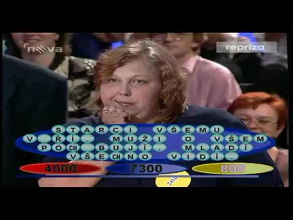 Vzpomínka na TV soutěž - Kolotoč