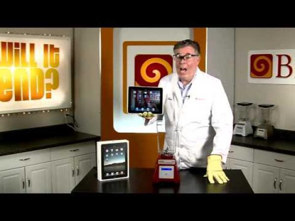 Předměty v mixéru - iPad