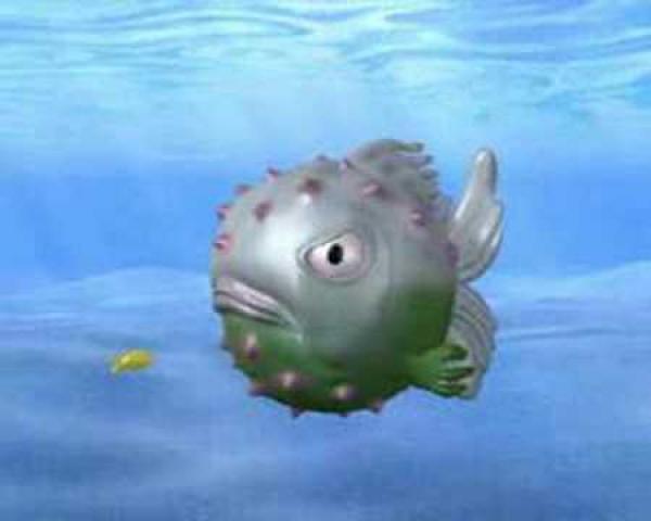 Bubblefish - Animace