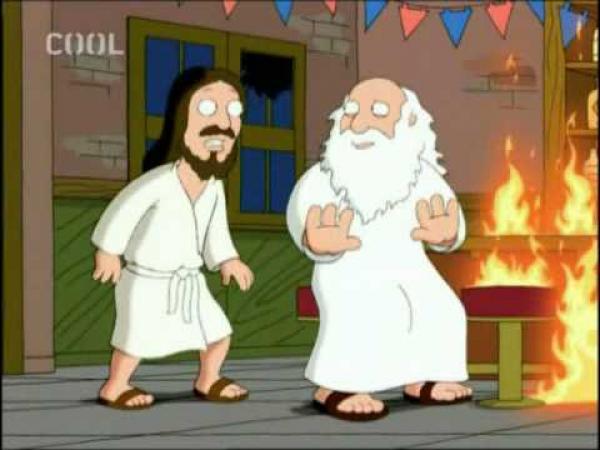 Griffinovi - Bůh a Ježíš