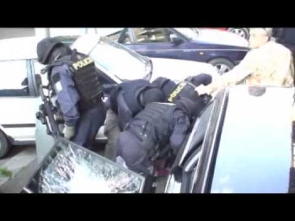 Zásah české policie