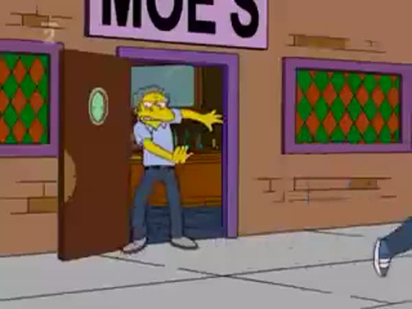Opilec Barney - Simpsonovi