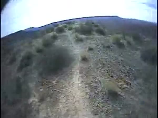 Adrenalin – Sjezd na kole z kopce