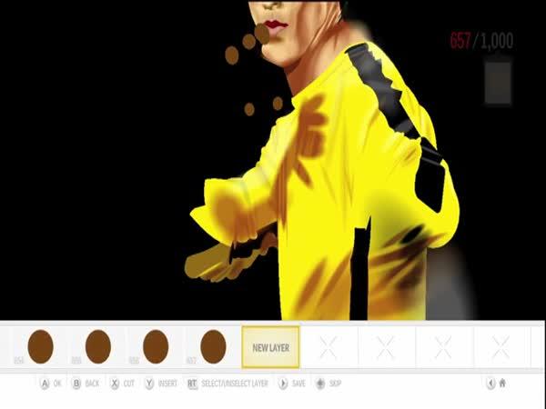 Borec - Bruce Lee [Kreslení]