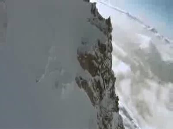 Adrenalin - Lyžování s padákem