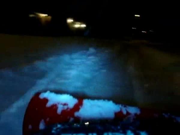 RC Model - Odhrnování sněhu