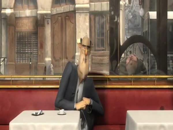 Animace – Účet za kafe