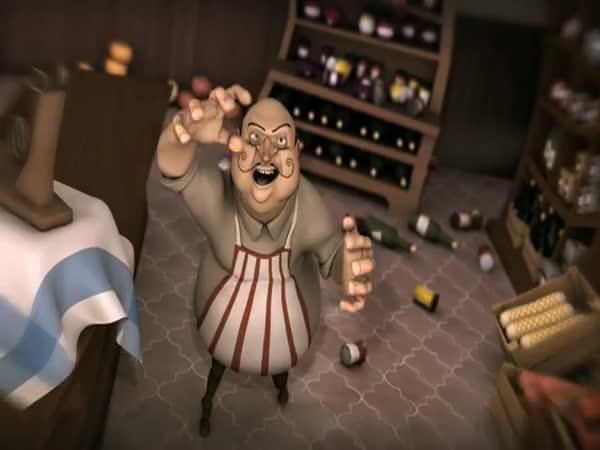 Animace – Boj o šunku
