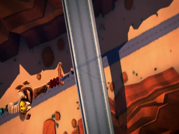 Animace – nový Road Runner