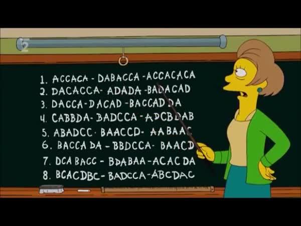 Simpsonovi - Jak napsat test