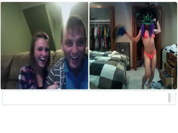 Erotický videochat - Nachytávka