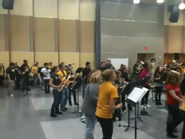 Netradiční hodina orchestru