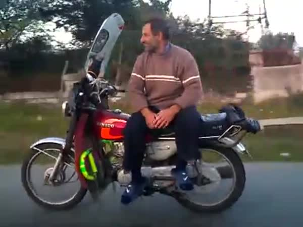 Borec - Nejlepší řidič motorky