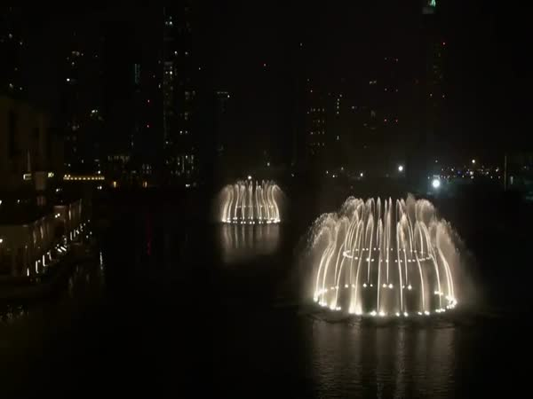 Fontány - Dubaj