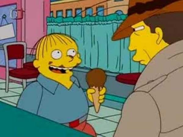 Simpsonovi - Výslech Ralfa