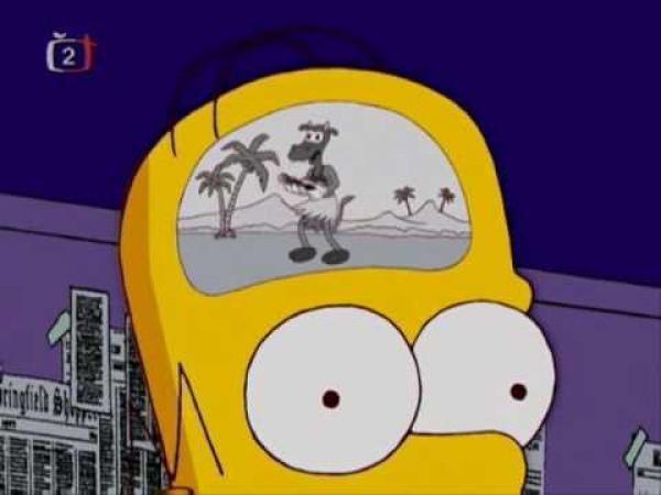 Simpsonovi - Proč Homer nepoužívá mozek