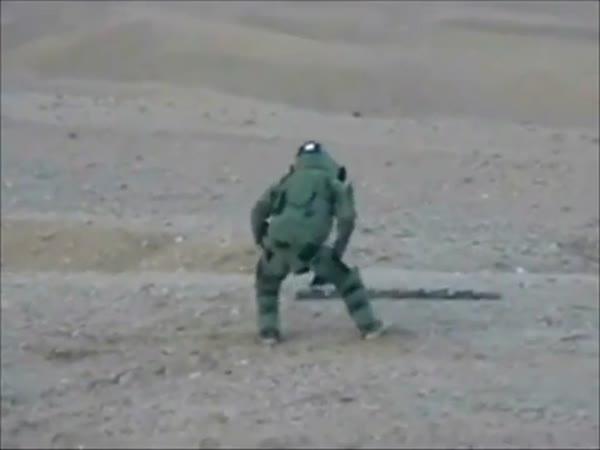 Tančící pyrotechnik