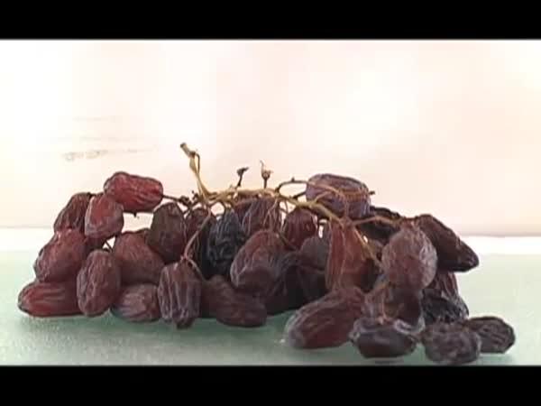 Pokus - Přeměna hroznů na hrozinky