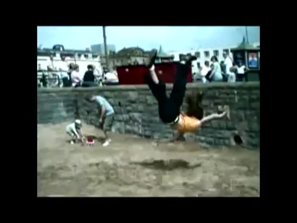 Parkour - freerun - nehody [kompilace]