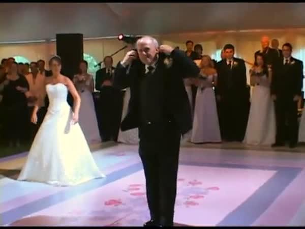 Svatba - Originální tanec s dcerou