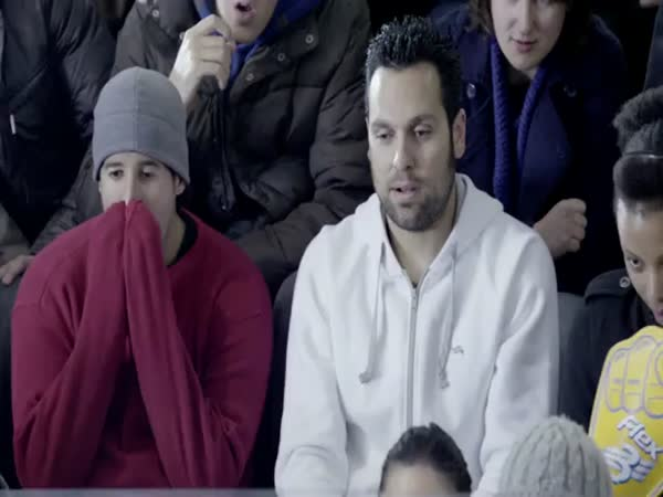 Lidský curling [reklama]