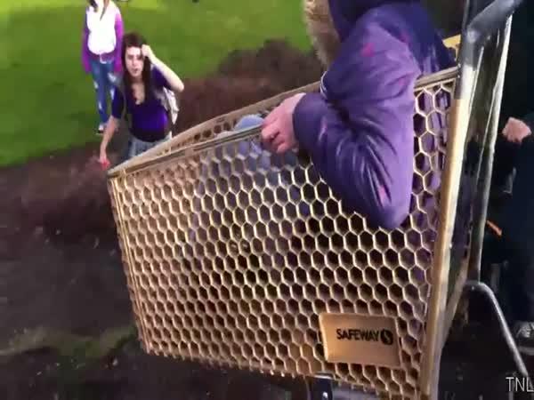 Největší blbci - nákupní košíky