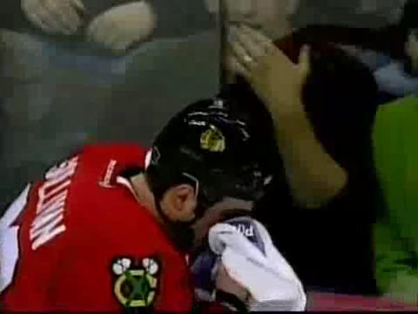 Pomstychtivý hokejista