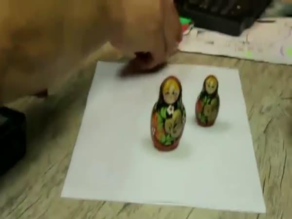 Optická iluze - tiskárna