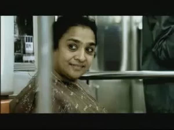 Sranda v metru