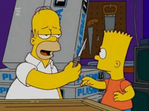 Simpsonovi - Homer a Bárt - dobráci